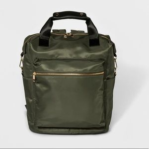 BRAND NEW -A New Day nylon olive backpack